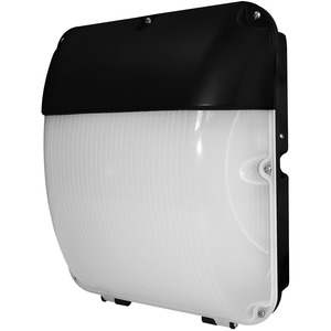 30W integrated LED bulkhead with photocell